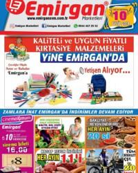 Emirgan Market 10 Eylül 2018 Kampanya Broşürü! Sayfa 1