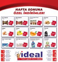 İdeal Market Ordu 15 - 16 Eylül 2018 Kampanya Broşürü! Sayfa 1