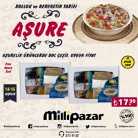 Milli Pazar Market 19 Eylül 2018 Aşüre Fırsat Broşürü! Sayfa 2