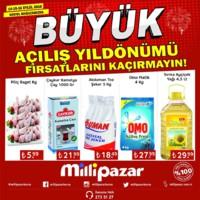 Milli Pazar Market 14 - 16 Eylül 2018 Kestel Mağazası Özel Kampanya Broşürü! Sayfa 1
