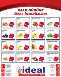 İdeal Market Ordu 05 Eylül 2018 Kampanya Broşürü! Sayfa 1