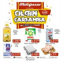 Milli Pazar Market 26 Eylül 2018 Kampanya Broşürü! Sayfa 1