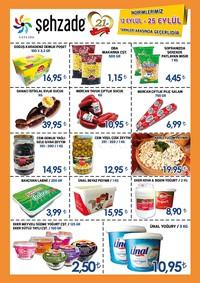 Şehzade Market 12 - 25 Eylül 2018 Kampanya Broşürü! Sayfa 2