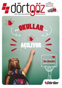 Dörtler Market 13 - 30 Eylül 2018 Kampanya Broşürü! Sayfa 1