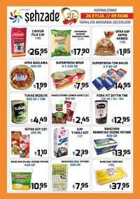 Şehzade Market 26 Eylül - 09 Ekim 2018 Kampanya Broşürü! Sayfa 2