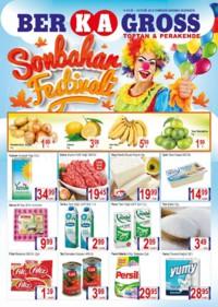 Grup Ber-ka Market 14 - 16 Eylül 2018 Kampanya Broşürü! Sayfa 1