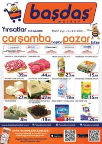 Başdaş Market 05 - 09 Eylül 2018 Kampanya Broşürü! Sayfa 1