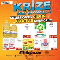 Milli Pazar Market 12 Eylül 2018 Kampanya Broşürü! Sayfa 1