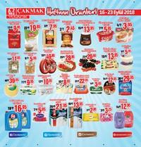 Çakmak Market 16 - 23 Eylül 2018 Kampanya Broşürü! Sayfa 1