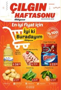 Milli Pazar Market 28 - 30 Eylül 2018 Kampanya Broşürü! Sayfa 1