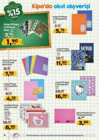 Kipa Extra 13 - 26 Eylül 2018 Kampanya Broşürü: Çocuklar Okula Anne Babalar Kipa' ya! Sayfa 8 Önizlemesi