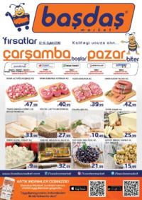 Başdaş Market 12 - 16 Eylül 2018 Kampanya Broşürü! Sayfa 1