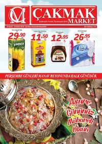 Çakmak Market 23 - 30 Eylül 2018 Kampanya Broşürü! Sayfa 1