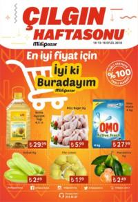 Milli Pazar Market 14 - 16 Eylül 2018 Kampanya Broşürü! Sayfa 1