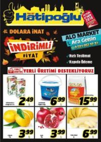 Hatipoğlu 28 Eylül - 07 Ekim 2018 Kampanya Broşürü! Sayfa 1