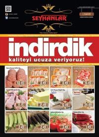 Seyhanlar Market Zinciri 03 - 10 Eylül 2018 Kampanya Broşürü! Sayfa 1