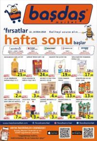 Başdaş Market 12 - 14 Ekim 2018 Kampanya Broşürü! Sayfa 1