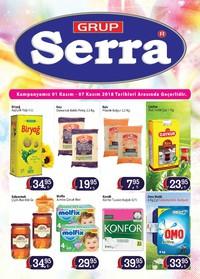 Serra Market 01 - 07 Kasım 2018 Kampanya Broşürü! Sayfa 1