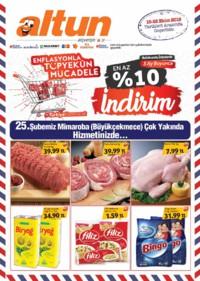Altun Market 18 - 28 Ekim 2018 Kampanya Broşürü! Sayfa 1 Önizlemesi