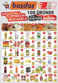 Başdaş Market 25 Ekim - 31 Aralık 2018 Enflasyonla Topyekün Mücadele Kampanya Broşürü Sayfa 2