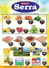 Serra Market 26 - 28 Ekim 2018 Kampanya Broşürü! Sayfa 1