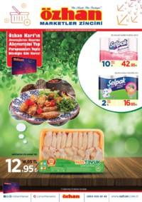 Özhan Marketler Zinciri 08 - 14 Ekim 2018 Kampanya Broşürü! Sayfa 1