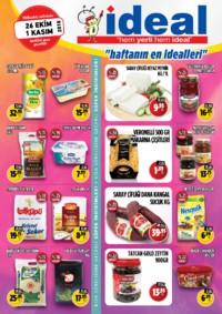 İdeal Market Ordu 26 Ekim - 01 Kasım 2018 Kampanya Broşürü! Sayfa 1