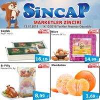 Sincap Marketler Zinciri 13 - 14 Ekim 2018 Fırsat Ürünleri Sayfa 1