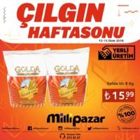 Milli Pazar Market 12 - 15 Ekim 2018 Hafta Sonu Kampanya Broşürü! Sayfa 2