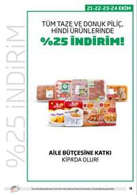 Kipa Süpermarket 11 - 24 Ekim 2018 Kampanya Broşürü! Sayfa 15 Önizlemesi