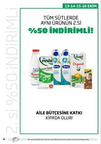 Kipa Süpermarket 11 - 24 Ekim 2018 Kampanya Broşürü! Sayfa 6 Önizlemesi