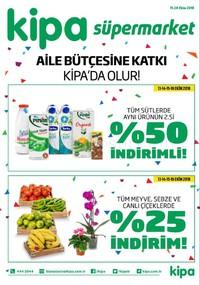 Kipa Süpermarket 11 - 24 Ekim 2018 Kampanya Broşürü! Sayfa 1 Önizlemesi