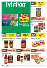 Kipa Süpermarket 11 - 24 Ekim 2018 Kampanya Broşürü! Sayfa 34 Önizlemesi