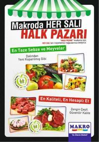 Makro 09 Ekim 2018 Halk Pazarı Kampanya Broşürü! Sayfa 1
