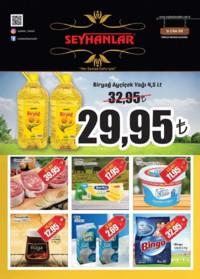 Seyhanlar Market Zinciri 10 - 22 Ekim 2018 Kampanya Broşürü! Sayfa 1
