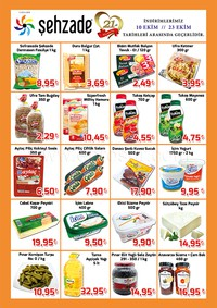 Şehzade Market 10 - 23 Ekim 2018 Kampanya Broşürü! Sayfa 2