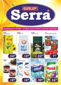Serra Market 19 - 24 Ekim 2018 Kampanya Broşürü! Sayfa 1