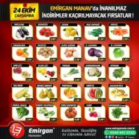 Emirgan Market 24 Ekim 2018 Kampanya Broşürü! Sayfa 1