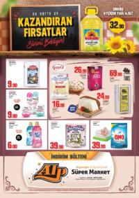Alp Market 12 - 28 Ekim 2018 Kampanya Broşürü! Sayfa 1