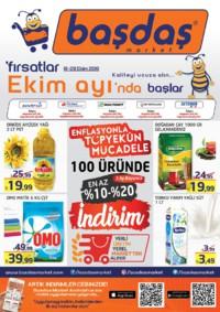 Başdaş Market 18 - 28 Ekim 2018 Kampanya Broşürü! Sayfa 1
