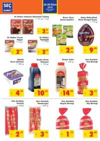 Seç Market 24 - 30 Ekim 2018 Kampanya Broşürü! Sayfa 2