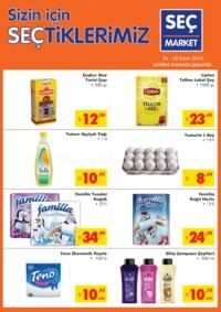 Seç Market 24 - 30 Ekim 2018 Kampanya Broşürü! Sayfa 1