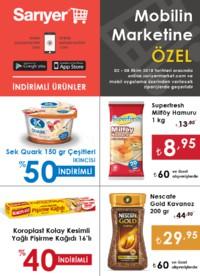 Sarıyer Market 02 - 10 Ekim 2018 Mobil Market Kampanya Broşürü! Sayfa 1