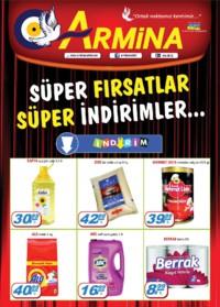 Armina Market 10 - 17 Ekim 2018 Kampanya Broşürü! Sayfa 1