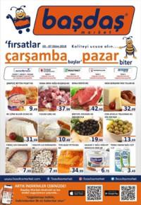 Başdaş Market 03 - 07 Ekim 2018 Kampanya Broşürü! Sayfa 1