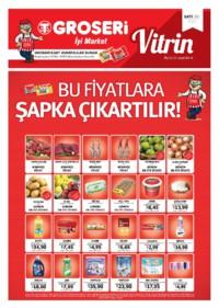 Groseri 01 - 31 Ekim 2018 Kampanya Broşürü! Sayfa 1