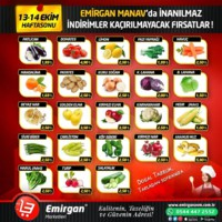 Emirgan Market 13 - 14 Ekim 2018 Kampanya Broşürü! Sayfa 1