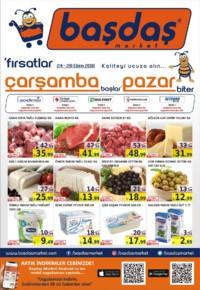 Başdaş Market 24 - 28 Ekim 2018 Kampanya Broşürü! Sayfa 1