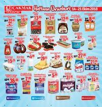 Çakmak Market 14 - 21 Ekim 2018 Kampanya Broşürü! Sayfa 1