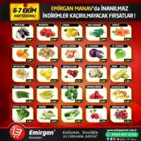 Emirgan Market 06 - 07 Ekim 2018 Kampanya Broşürü! Sayfa 1